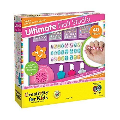 Barbie Ultimate Nail Dryer Set: Ultimate Nail Studio Kit
