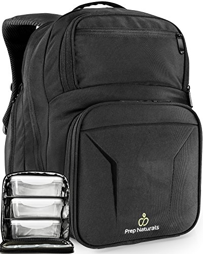 Meal Prep Bag Meal Prep Lunch Box - Insulated Lunch Bag Backpack Cooler Lunchbox - Lunch Boxes for Adults - Backpack for Men - Best Lunch Bags Cooler Bags Cooler Backpack Lunch Bag for Men - Insulated Food Compartment