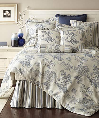Austin Horn Classics Cosmopolitan Toile 3-Piece Luxury Comforter Set ()
