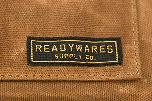 Readywares Waxed Canvas Utility Apron, Cross-back Straps (Tan) by Readywares (Image #6)