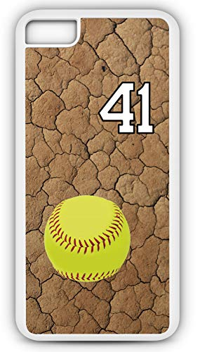 iPhone 7 Plus 7+ Case Softball On Deck Customizable by