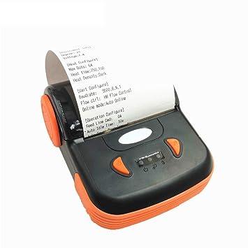 ZUKN Mini Impresora Térmica Portátil USB 80Mm Bluetooth ...
