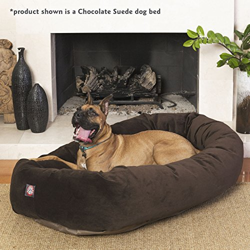 40 inch Stone Suede Bagel Dog Bed By Majestic Pet Products by Majestic Pet (Image #6)