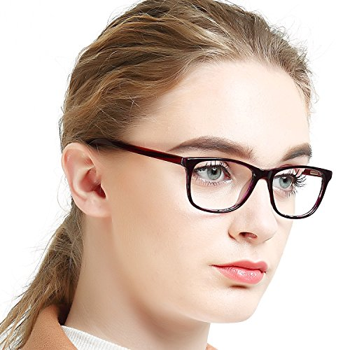 OCCI CHIARI Women's Rectanguar Glasses Frame Fashion Eyewe