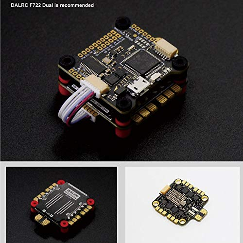Wikiwand DALRC Rocket 45A 4 in 1 ESC Brushless 3-6S Blheli_32 LIHV DSHOT1200 for Drone by Wikiwand (Image #4)