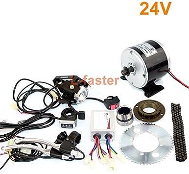 Amazon.com: 24 V36 V 350 W pequeño motor eléctrico sin caja ...