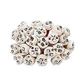 Dicuno Bi-Pin Base, G4, G6.35, GY6.35, GX5.3 MR16, GZ4 MR11, Halogen Incandescent Led Socket Ceramic Body Lamp holder (24pcs)