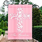 Pink Floral Easter Crucifix Custom Personalized Double-Sided Garden/House Flag Review