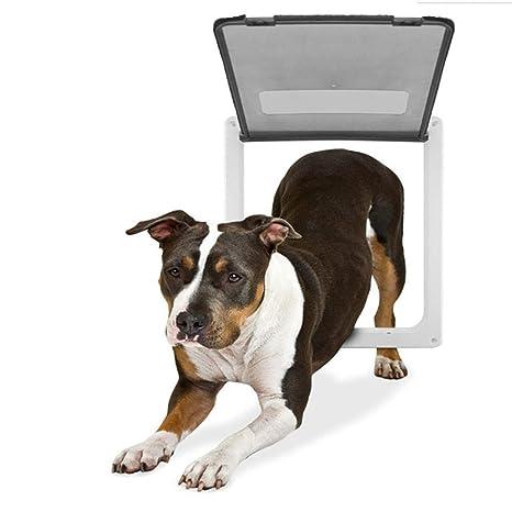 QNMM Puerta para Perros y Gatos Entrada y Salida Libres ...