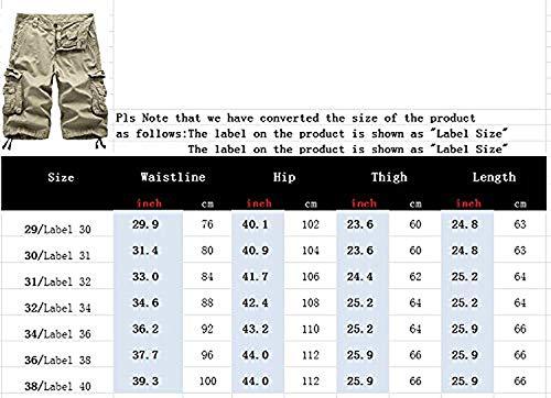 Kaffee Pantaloncini Uomo In Niuzi Leggeri Esterno Da Cargo Bicolore Abbigliamento Cotone Lannister Mimetici Allentati Festivo wafE6nq