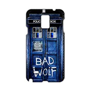 Cool-benz Doctor Who 3D Phone Case for Samsung Galaxy Note4