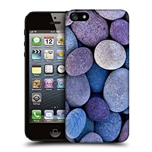 Case Fun Pebbles Snap-on Hard Back Case Cover for Apple iPhone 5 / 5S