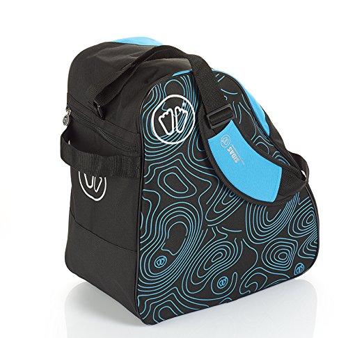 Sidas asacskibagbl17/Bolsa de Zapato esqu/í Nylon Unisex Azul
