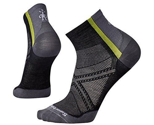 SmartWool Men's PhD Cycle Ultra Light Mini Socks (Black) Medium