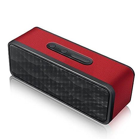 Review Amuoc Portable Bluetooth Speaker