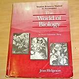 The World of Biology, Davis, Wayne R., 0030326095