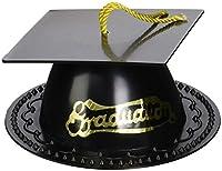 Graduation Cap Cake Topper - Black