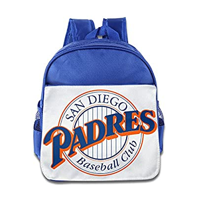 Custom San Diego Symbol Padres Children School Bagpack For 1-6 Years Old RoyalBlue