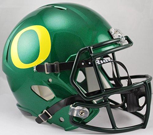 NCAA Oregon Ducks Full Size Speed Replica Helmet, Green, Medium by Riddell