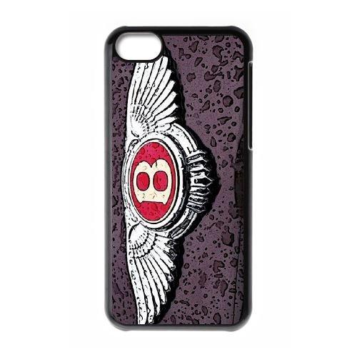 L0J07 Bentley G5M6WS cas d'coque iPhone de téléphone cellulaire 5c couvercle coque noire FN6CEU4JV