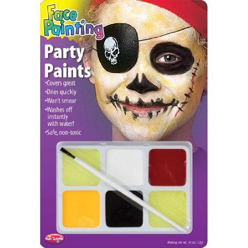 Pirate Face Painting Character Makeup (Pirate Dress Up Kit)