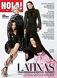 ¡HOLA! Revista USA Abril 2019; Latina Powerhouse Issue con estrellas de la portada Eva Longoria, Rita Moreno, Zoe Saldaña y Gloria Estefan