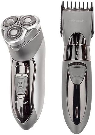 Pritech, RSM 2539, eléctrica máquina de afeitar, recargable, 3 ...
