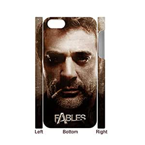 Clear Back Phone Case For Teen Girls Print With Fables Bigby Wolf For Iphone 5S Apple Choose Design 1-2