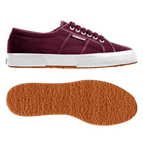 Le Superga - 2750-plus Nylu Bordeaux