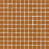 MTO0176 Modern Hand Painted Squares Orange Glossy Glass Mosaic Tile