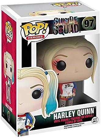 Pop Suicide Squad Harley Quinn Vinyl Figure: Amazon.es: Juguetes y juegos