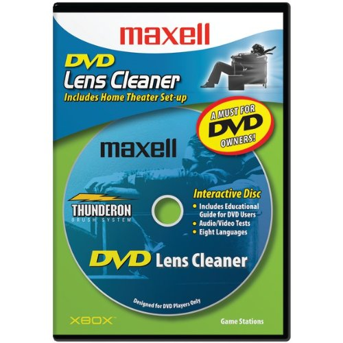 """Maxell Dvd Lens Cleaner """"Product Category: Care & Cleaning/Cd/Dvd Lens Care & Cleaning"""""""