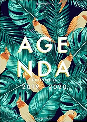 Agenda 2019 2020 giornaliera: Agenda settimanale 2019 2020 ...