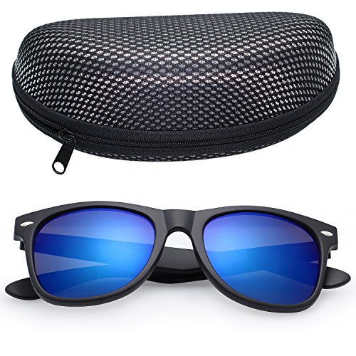LotFancy Mirrored Sunglasses Fashion Outdoor