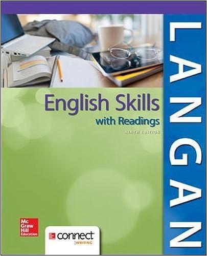 english skills john langan 9th edition