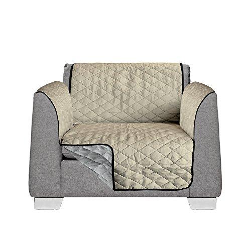 AKC CPGAKC-02BLACK Pet Chair Cover Black/Grey