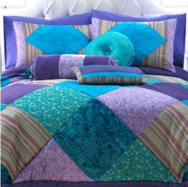 Seventeen Crystal Violet Accent Pillows - 16