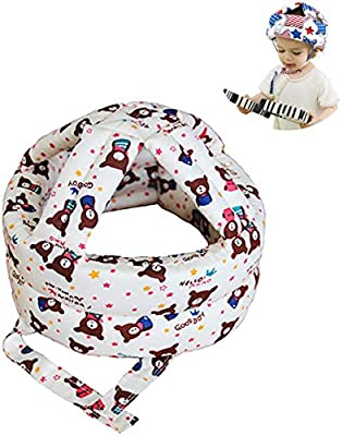 Baby Head Protection Hat Toddler Crash Cap Shatter-resistant Safety Helmets QA