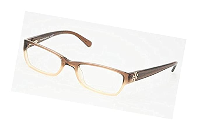 9b51bd30bf Amazon.com  Tory Burch Women s TY2003 Eyeglasses Brown Faded 51mm    Cleaning Kit Bundle  Clothing