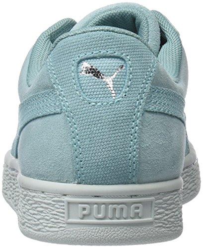 Donna Basse Puma Flower Aquifer da Wn's Pebble Heart Verde Scarpe Ginnastica blue Suede w6qw8rx0