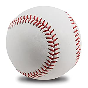 No Worry Sports All-American Adult/Youth Blank Baseball for League Play, Practice, Competitions, Gifts, Keepsakes, Arts and Crafts, Trophies, and Autographs (Single Ball)
