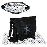NFL Dallas Cowboys Sitter Tote, Black, Medium