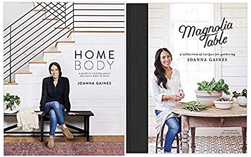 Book cover from {Joanna Gaines HOMEBODY & Magnolia Table 2 Book Set}[HOMEBODY & Magnolia Table] by Joanna Gaines