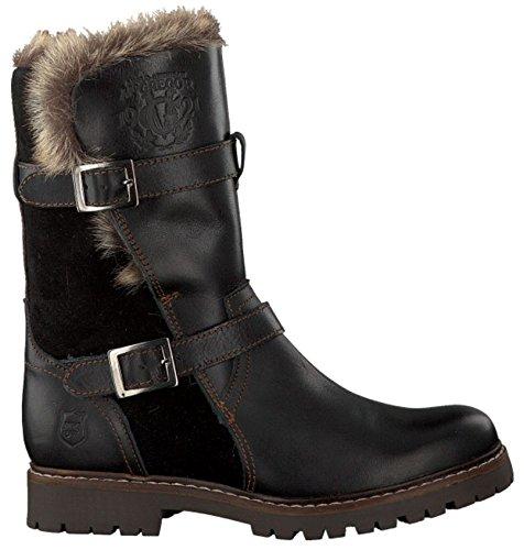 zwarte kuitlaarzen dames