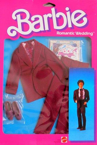 Barbie KEN ROMANTIC WEDDING FASHIONS & Accessories (1986 Mattel Hawthorne) by Barbie