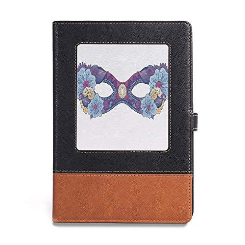 Vintage Writing Notebook Diary,Masquerade,A5(6.1