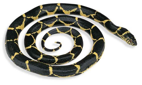 Safari Ltd Incredible Creatures Chain Kingsnake Toy Figurine -