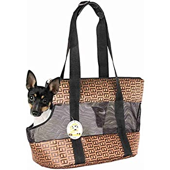 Amazon Com Spetyle Pet Dog Cat Purse Carrier With Aujustable