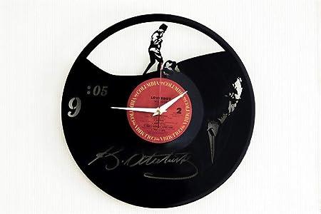 Nightmare Before Christmas Handmade Vinyl Wall Clock