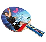 Butterfly NAKS4 Nakama S-4 Table Tennis Racket-Carbon Blade-Wakaba 2.1mm Rubbers ITTF Approved